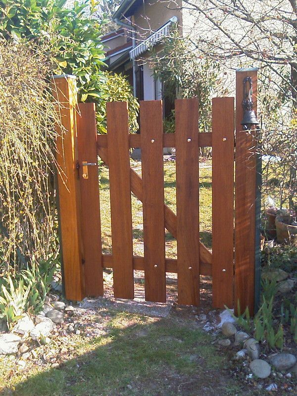 Portillon ext rieur for Porte exterieur de jardin